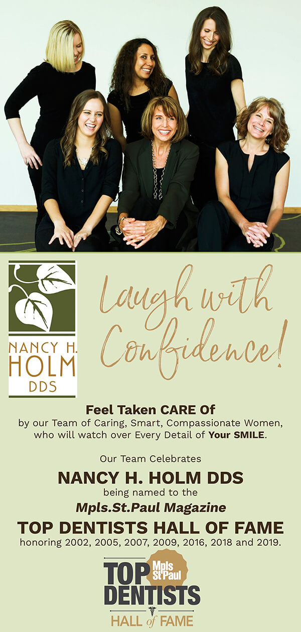 Burnsville MN Dentist Dr. Holm can give you the smile of your dreams